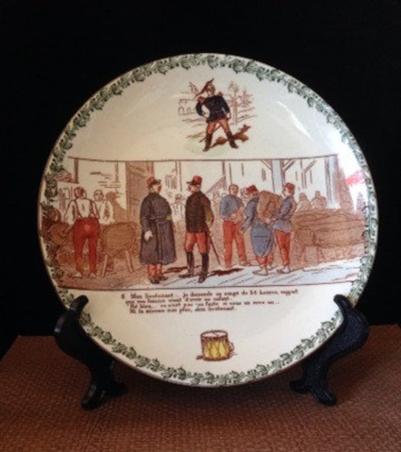 Humor Alfred Meakin Harmony Serving Plate Excellent Condition Pottery Alfred Meakin