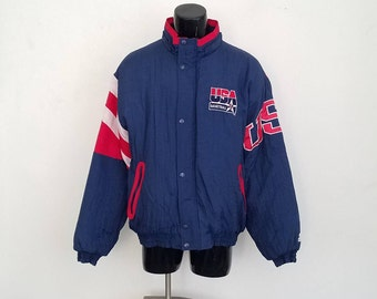 Extremely Rare Vintage USA Dream Team Starter Jacket Sz. XL