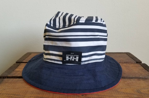 e336e41292c0e Vintage Helly Hansen Reversible Bucket Hat