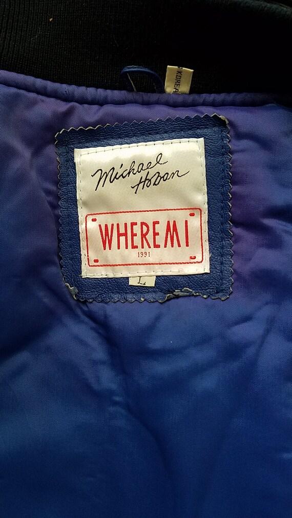"Vintage Michael Hoban ""Freedom"" Torch Leather Jac… - image 10"