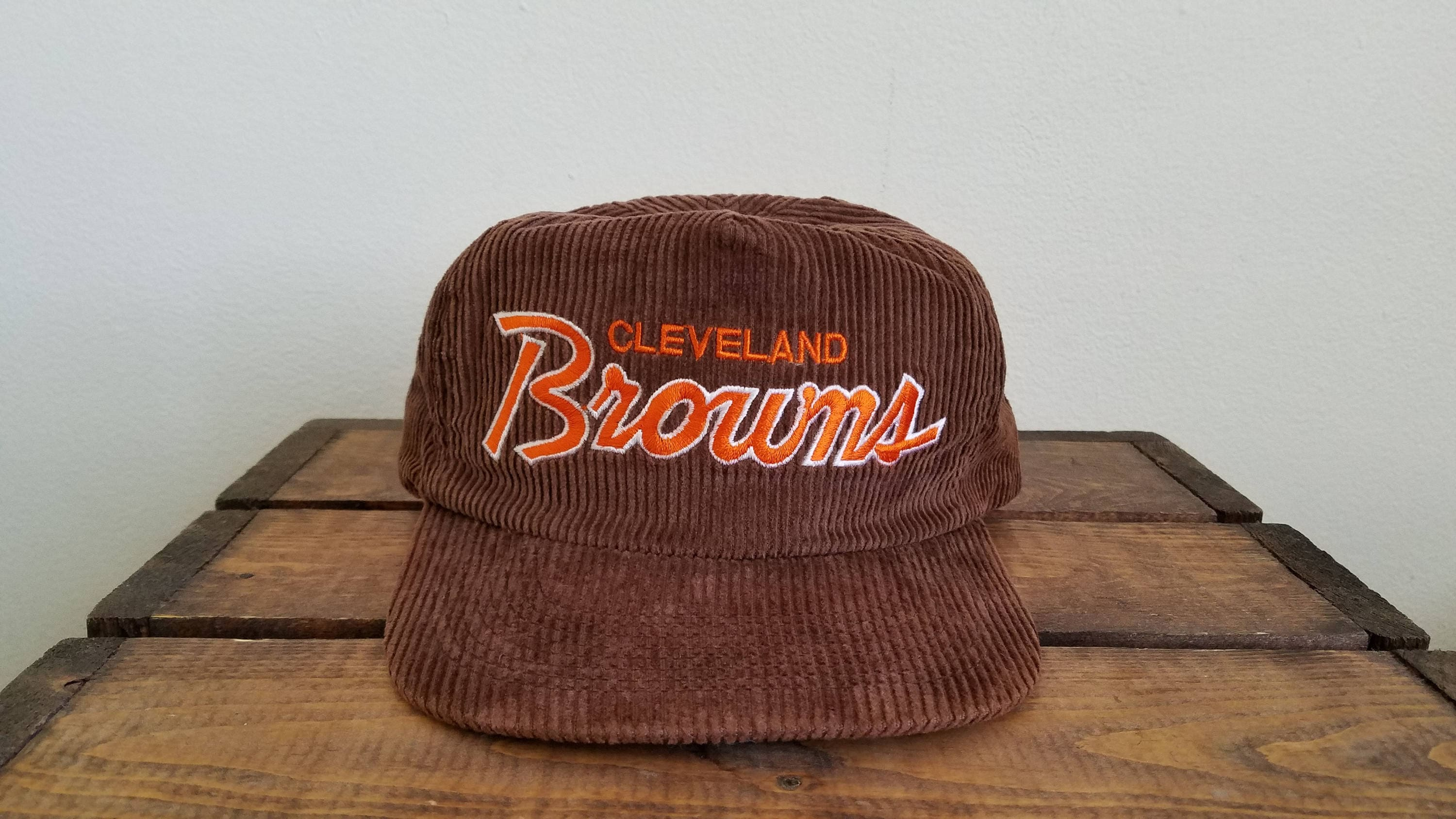 6725a9107 ... coupon for nwot vintage cleveland browns sports specialties corduroy  adjustable hat af897 bf9ae ...