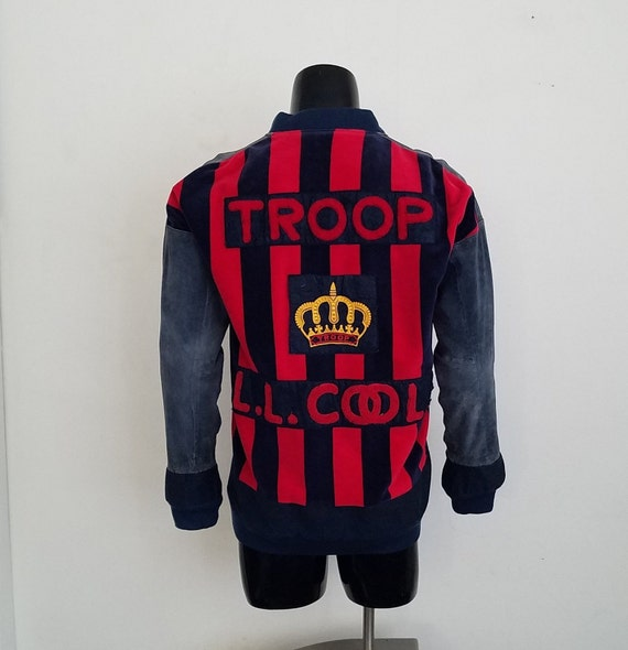 Extremely Rare LL COOL J Troop Jacket Sz. M