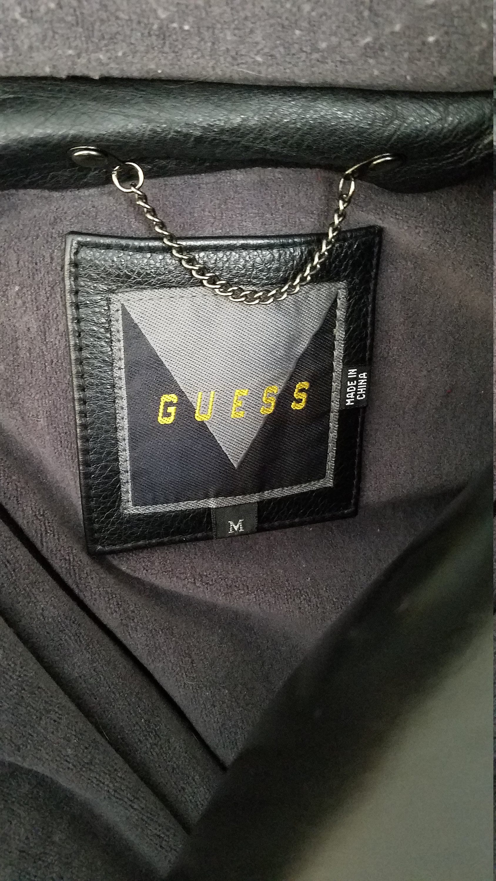 Vintage ASAP Rocky (Testing) Style Guess Leather Bomber