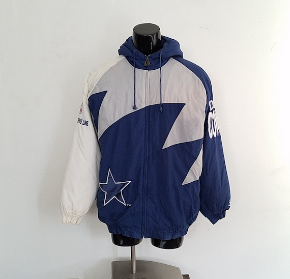Vintage Logo Athletic Pro Line Dallas Cowboys Shark Tooth  1e0f8a15f