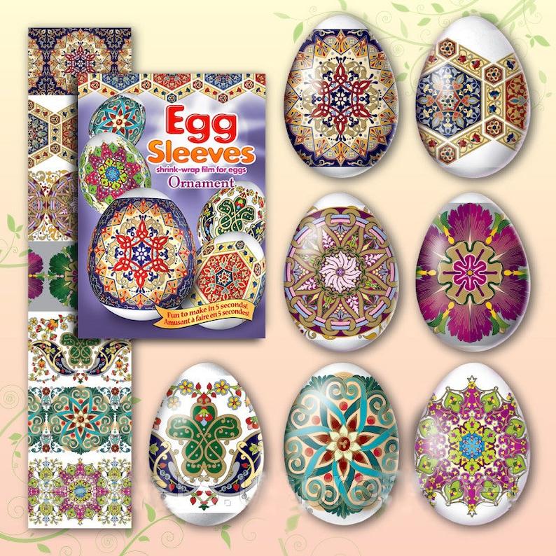 Ornament 19 Egg Sleeves  Shrink Wraps Egg Sleeves  Egg image 0