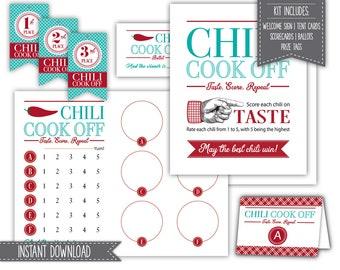 Cook printable | Etsy