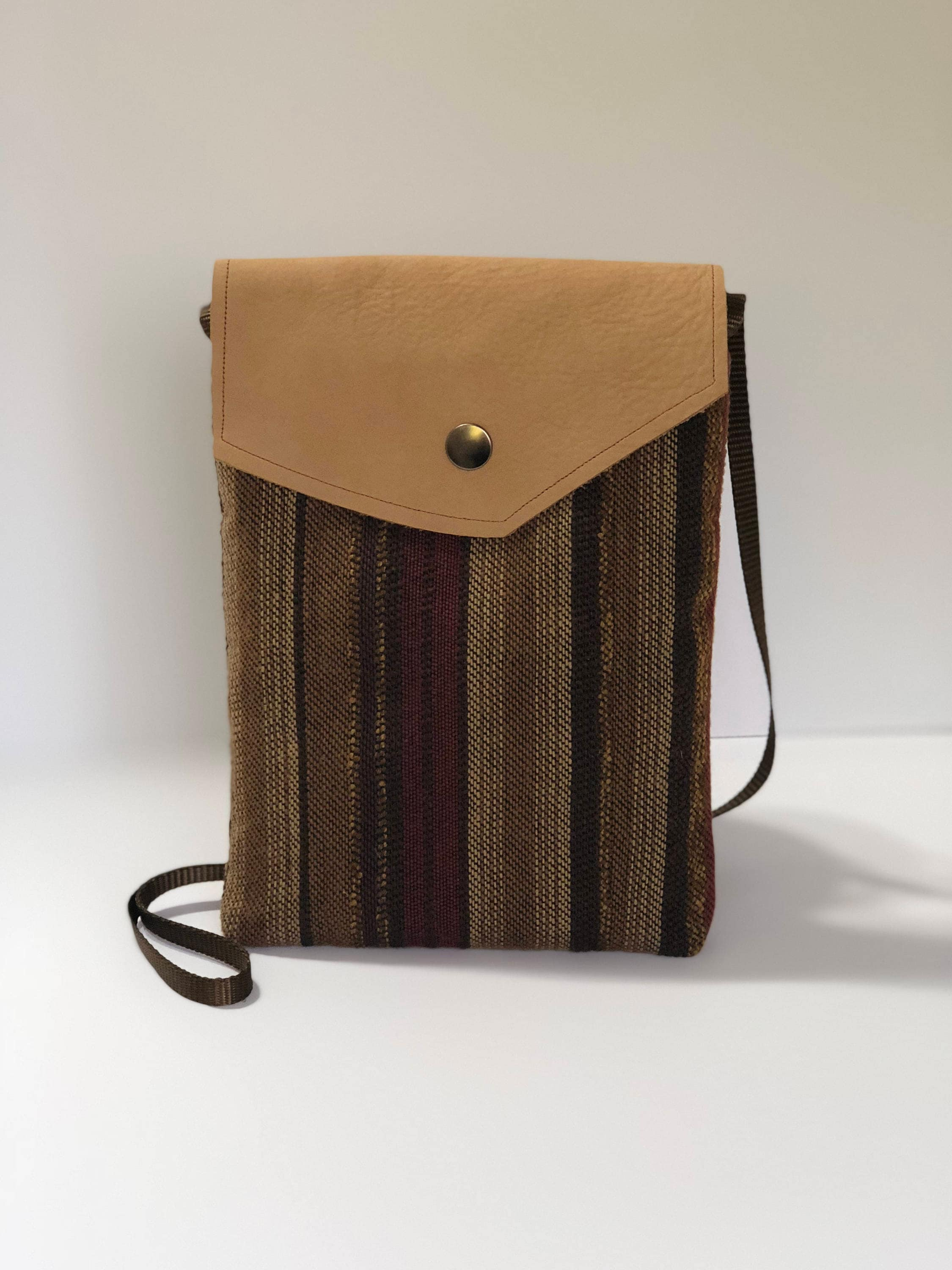 27098f3de1 Beige Brown Suede Crossbody Bag Small Leather Earth-tone