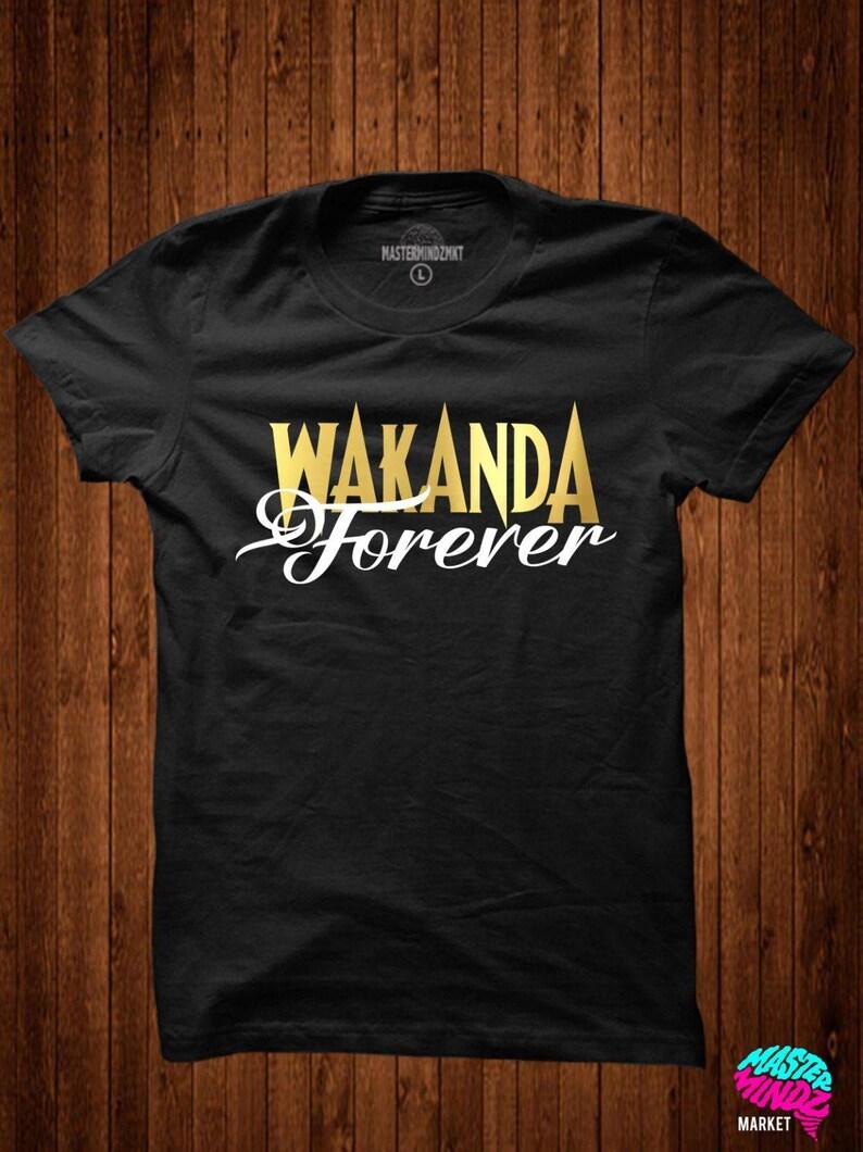 0123a8fe3 Black Panther Movie Tee T'challa t-shirts wakanda | Etsy