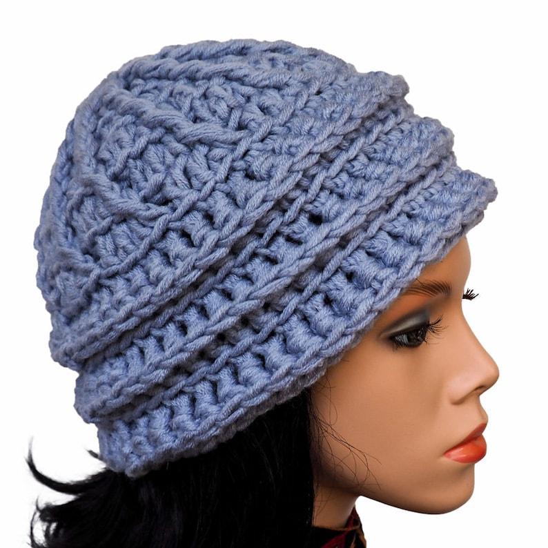 0c022518758 Crochet beanie Slouchy hat pattern Diy Photo tutorial How to