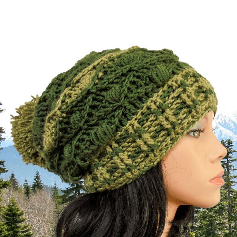 f85b97b3713 Slouchy beanie tutorial Crochet hat pattern Slouch beanie