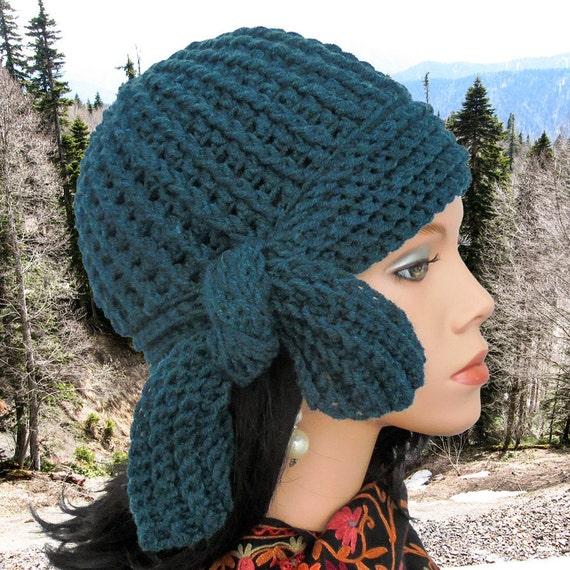 Crochet Cloche Hat Pattern Women Crochet Hat Pattern Crocheted Etsy