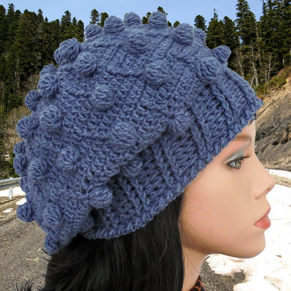 Crochet Beanie Pattern Crochet Beanie Hat Tutorial Easy Etsy