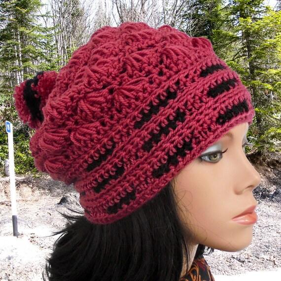 Crochet Hat Pattern Slouchy Beanie Women Hat Pattern Crochet Etsy