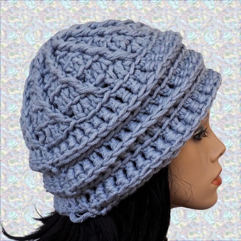 pdf pattern diy pattern hat pattern The Emiline Crochet Hat Pattern beanie pattern Crochet Pattern