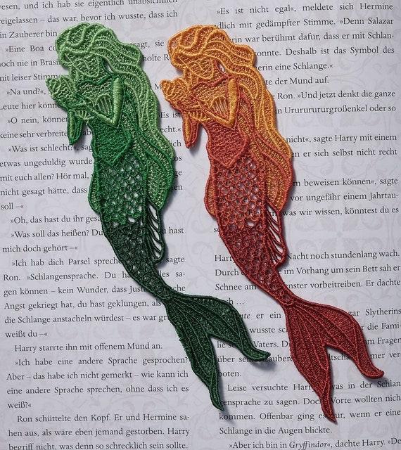 FSL Mermaid Bookmark