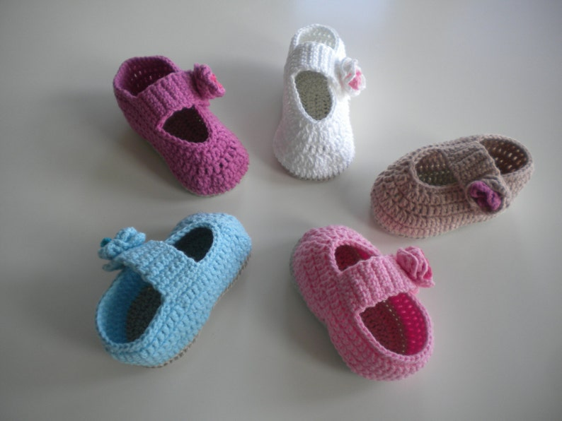Babyshoes crochet