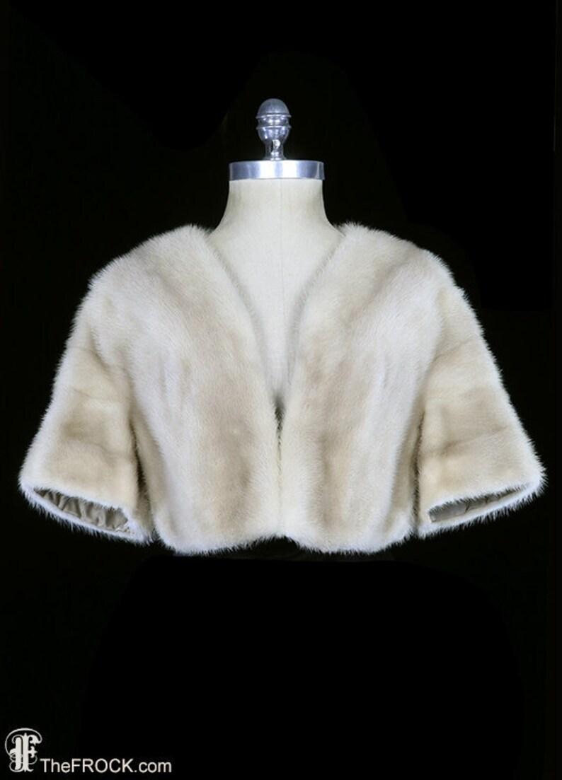 9c1b941c0504 Oscar de la Renta mink fur jacket vintage coat off winter