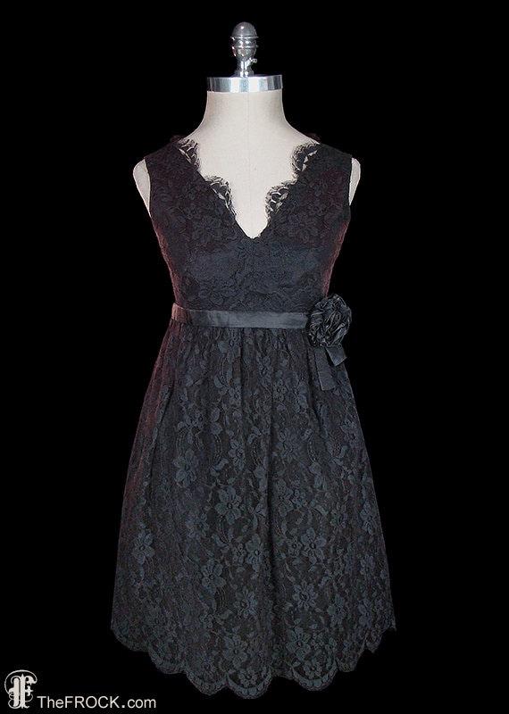 Givenchy black lace dress, Little Black Dress / LB