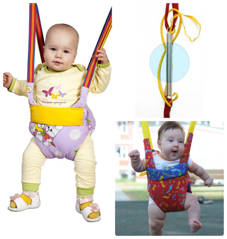 9ad25a0c0499 Baby Jumper Swing Trapeze Bungee Exerciser