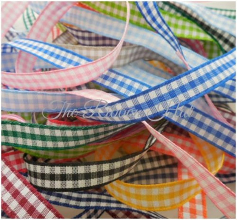 3mm Double Satin Ribbon Bundle//Pack-Mixed Colours 10 Pieces x 1 Mtr Lengths