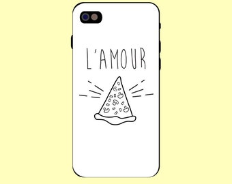 Smartphone case iphone samsung pizza