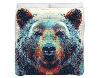 Bear Duvet Cover / Comforter - Colorful Animals