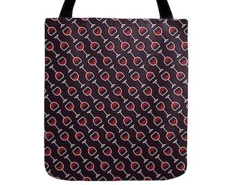 Wine Tote Bag - Icon Prints: Drinks Series
