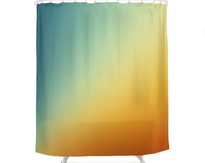 Gradient Ombre Shower Curtain