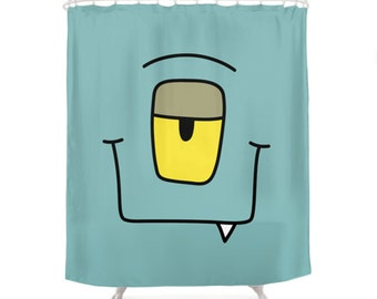 Kaa Shower Curtain - Monsters