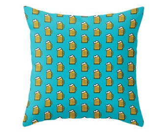 Beer Pillow - Icon Prints: Drinks Series