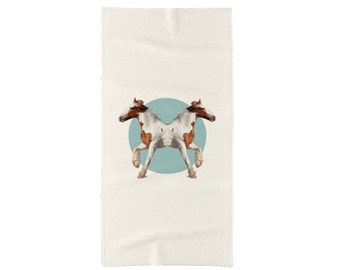 Horses Towel - Double Animals
