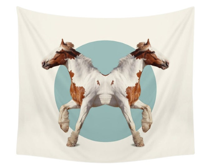 Horses Tapestry - Double Animals