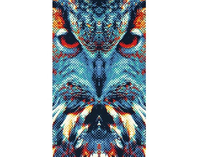 Owl Rug - Colorful Animals