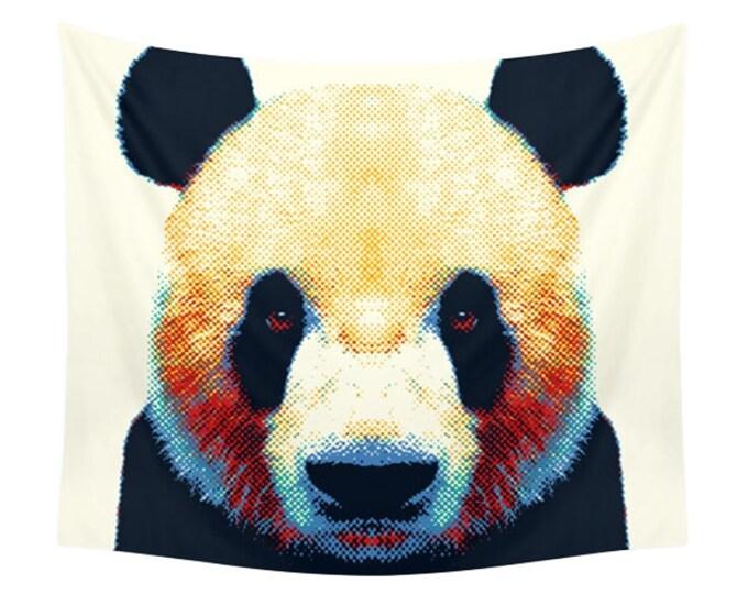 Panda Tapestry - Colorful Animals