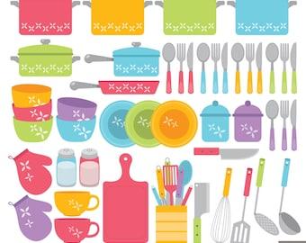 Kitchen Clipart Etsy