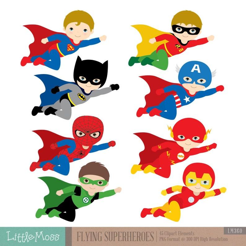 Superhero Clipart For Kids