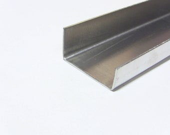 1x4 4pcs Aluminum Fabricated Channel .050 x .75 x 3.5 x .75 x 48 in. UAAC