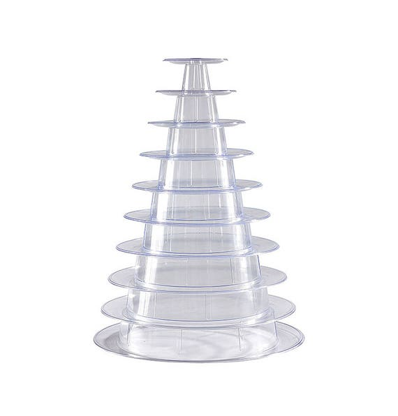 tier macaron tower display stand  french macarons etsy