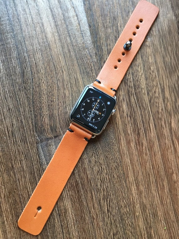 Apple Watch Band-Maple Syrup Tan Wicket & Craig English