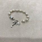 Custom, Freshwater Pearl Rosary Bracelet