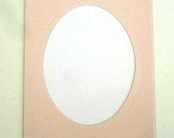 Pink mat DMC 3 card with envelopes