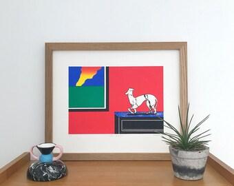 Marble Greyhound