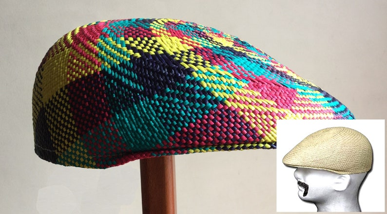 Original Panama Hat from Montecristi fun Flat cap Ivy