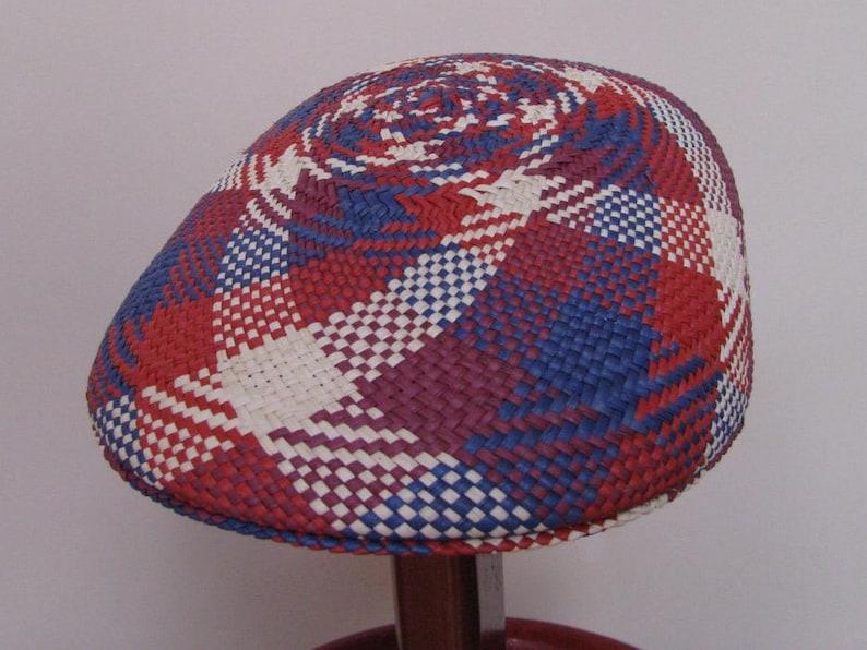 Original Panama Hat from Montecristi Flat cap Spiral