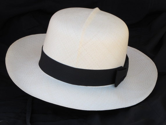 OPTIMO HAT COLONIAL STRAW HAT AUTHENTIC PANAMA HAT