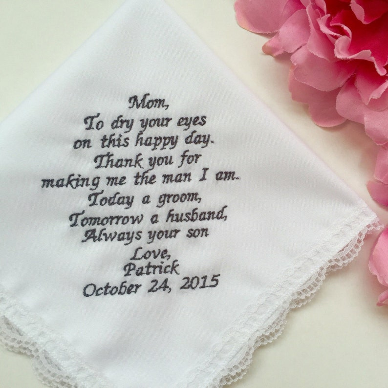de02f53f01 Wedding Gift From Groom To Mother Groom Personalized Wedding