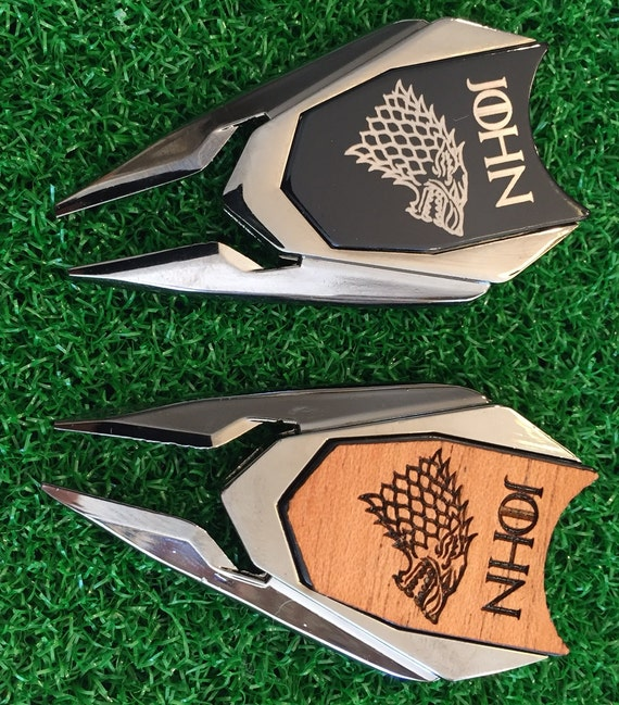 Game of Thrones Personalized Golf Ball Marker and Divot repair | Etsy