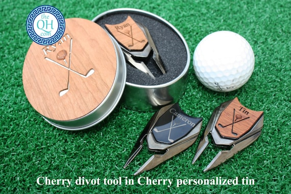 Personalized Golf Ball Marker And Divot Tool Groom Boss Day Etsy
