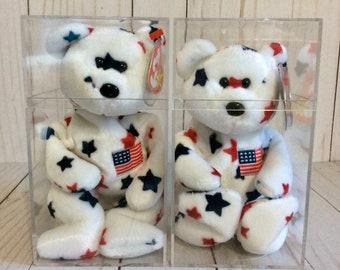 Glory ty Original the Beanie Babies Collection - Glory Bear in Original Box  - 1997 d4cfa837e580