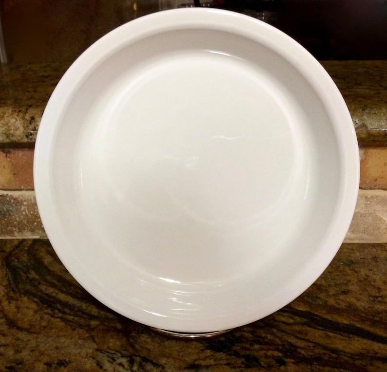 Corning Ware Pie Plate P-309 Just White  All White 9  Vintage Baking Pan Corning Ware Holiday Baking Oven /& Microwave Pyroceram USA